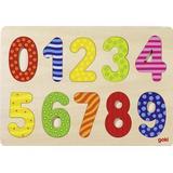 Classic Jigsaw Puzzles Goki Number 0-9