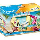 Toys Playmobil Family Fun Bungalow with Pool 70435