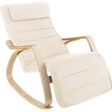 Rocking Chairs tectake Onda 86cm Rocking Chair