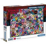 Clementoni Stranger Things Impossible 1000 Pieces