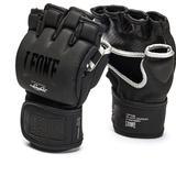 Martial Arts Leone Black Edition MMA Gloves GP105 L