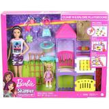 Dolls & Doll Houses Mattel Barbie Skipper Babysitters Inc Climb 'n Explore Playground