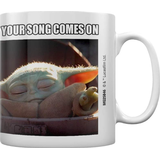 Cups Pyramid International Star War The Mandalorian When Your Song Comes On Cup 31.5 cl