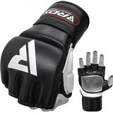 Gloves RDX T1 Leather MMA Training Gloves