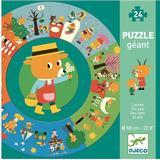 Jigsaw Puzzles Djeco The Year XXL 24 Pieces