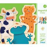 Classic Jigsaw Puzzles Djeco Magnetic Crazy Animals 24 Pieces