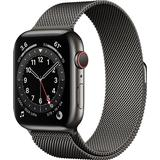 Apple watch 44mm gps cellular Wearables Apple Watch Series 6 Cellular 44mm Stainless Steel Case with Milanese Loop