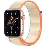 Apple watch 44mm gps cellular Wearables Apple Watch SE Cellular 44mm Aluminium Case with Sport Loop