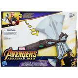 Action Play on sale Hasbro Marvel Infinity War Marvel's Stormbreaker Electronic Axe