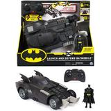 Toy Cars Spin Master Batman Launch & Defend Batmobile Remote Control Vehicle