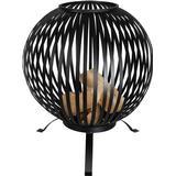 Fire Basket Esschert Design Fire Ball Stripes Black FF400