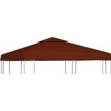 Pavilion roof vidaXL 2-Tier Gazebo Top Cover 310 g/m² 3x3m