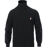 Moncler Grenoble Tech Down Rollneck Sweater - Black