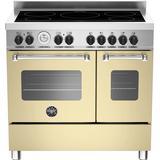 Induction Cooker Bertazzoni MAS90-5I-MFE-D-CRE Beige