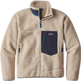 Fleece Tops Men's Clothing Patagonia Classic Retro X Fleece Jacket - Natural