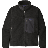 Fleece Tops Men's Clothing Patagonia Classic Retro X Fleece Jacket - Black w/Black