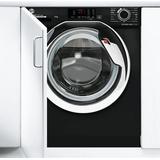 Black hoover washing machine Washing Machines Hoover HBWS49D3ACBE