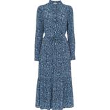 Whistles Eucalyptus Print Dress - Blue