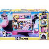 Fashion Doll Accessories LOL Surprise O.M.G. Remix 4 in 1 Plane