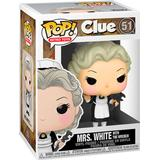 Clue funko pop Toy Figures Funko Pop! Clue Mrs White with Wrench