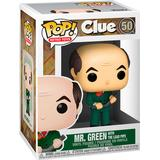 Clue funko pop Toy Figures Funko Pop! Clue Mr Green with Lead Pipe