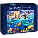 Classic Jigsaw Puzzles Bluebird Oceans of Life 150 Pieces