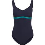 Women's Clothing Speedo Women's Contourluxe Swimsuit - Navy