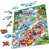 Classic Jigsaw Puzzles Larsen Rafting in the Amazon 35 Pieces