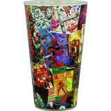 Drinking Glasses Paladone Deadpool Comics Drinking Glass 50 cl