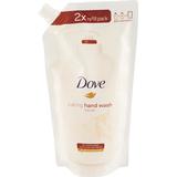 Hand Washes Dove Silk Fine Handtvål 500ml Refill
