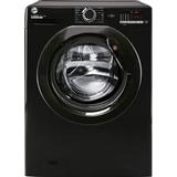 Black hoover washing machine Washing Machines Hoover H3W4102DBBE