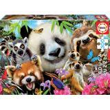 Jigsaw Puzzles Educa Black Eyed Friends Selfie 300 Pieces