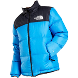 Down Jackets Children's Clothing The North Face Youth 1996 Retro Nuptse Jacket - Clear Lake Blue