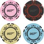 Paladone James Bond Casino Royale Poker Chip Coaster 4 pcs