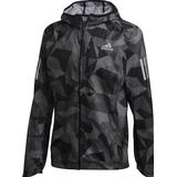 Adidas own the run jacket Sportswear Adidas Own the Run Camo Jacket Men - Metal Grey/Grey Four/Black