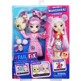 Dolls & Doll Houses Moose Failfix Total Makeover Doll Pack Kawaii Qtee