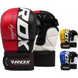 Gloves RDX T6 Hybrid MMA Grappling Gloves XL