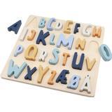 Sebra Danish ABC Wooden Puzzle