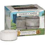 Scented Candles Yankee Candle Clean Cotton Scented Candles
