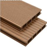 Timber vidaXL WPC 275711 25x150 Patio Boards