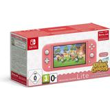 Game Consoles Nintendo Switch Lite - Coral - 2020 - Animal Crossing: New Horizons