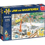 Classic Jigsaw Puzzles Jumbo Jan Van Haasteren Almost Ready? 1000 Pieces