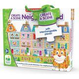 Floor Jigsaw Puzzles The Learning Journey Create a Scene My Neighborhood 60 Pieces
