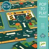 Jigsaw Puzzles Djeco Roads 21 Pieces