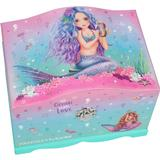 Play Set Accessories Top Model Fantasy Model Jewellery Box with Light Mermaid