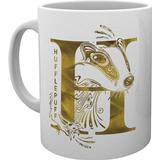 Cups GB Eye Harry Potter Hufflepuff Monogram Cup 30 cl