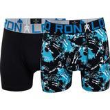 Boxer Shorts Children's Clothing CR7 Boy's Trunk 2-pack - Black/Aop (8400-51-533)