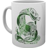 Cups GB Eye Harry Potter Slytherin Monogram Cup 30 cl