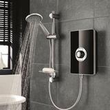 Shower Rail Kits & Handsets Triton Aspirante (ASP08GSBLK) Black