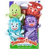 Puppets Melissa & Doug Dinosaur Friends Hand Puppets 4 Pack